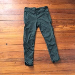 Free people olive infinity leggings